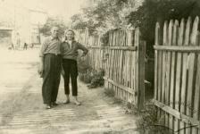 Львів, Підзамче. Вулиця Діаманда, фото 1957 року