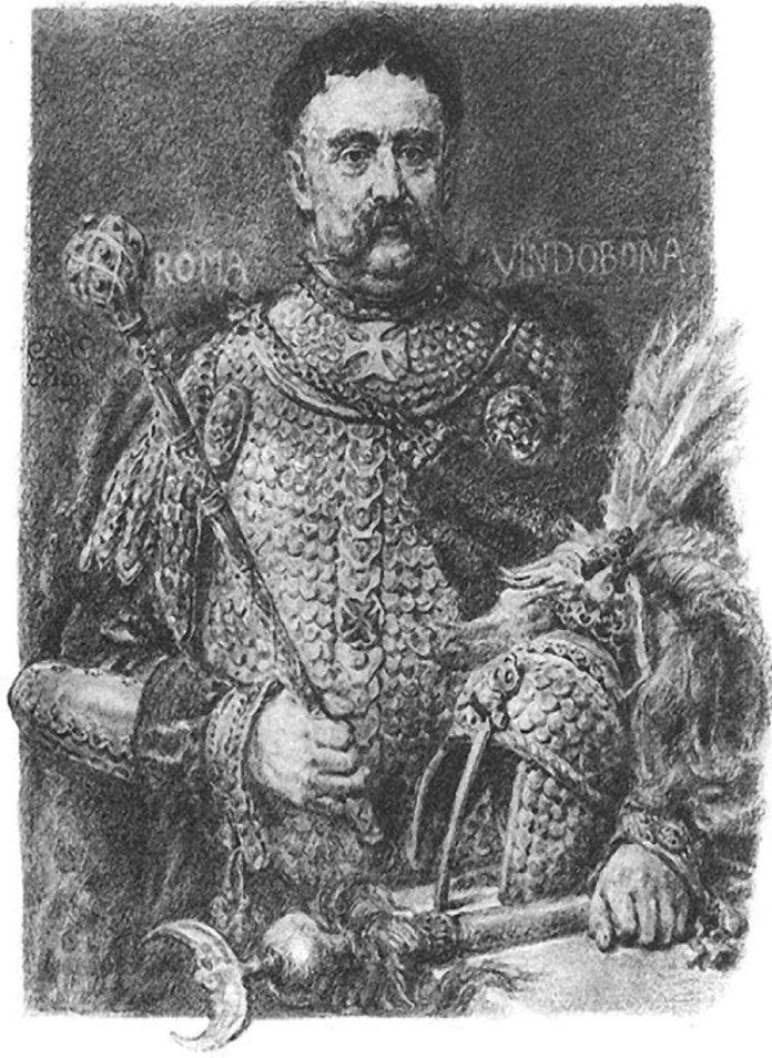 Король польсько-литовської держави — Речі Посполитої Ян III Собеський