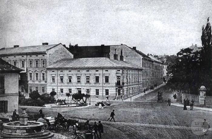 Зображення криниці на Академічній, фото 1880-х