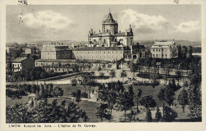 Собор святого Юра у Львові , 1936 рік