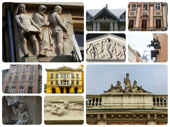 10 символів стародавнього світу в архітектурі Львова