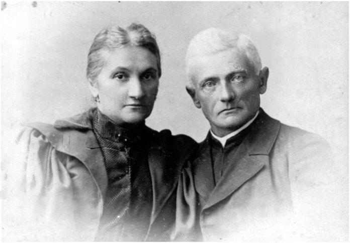 Батьки Соломії Крушельницької – Теодора та о. Амвросій