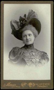 Портрет жінки , 1898 рік