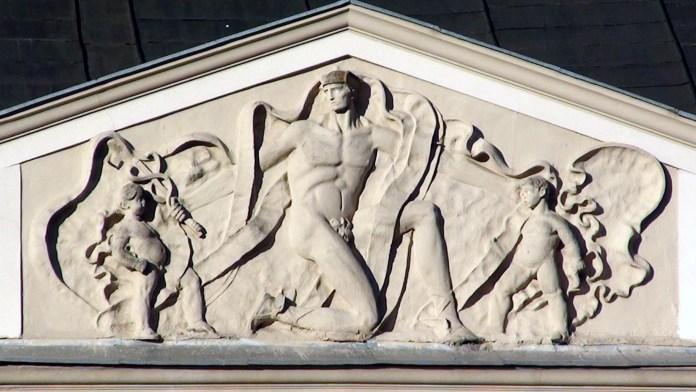 Меркурій і змії на площі Ринок