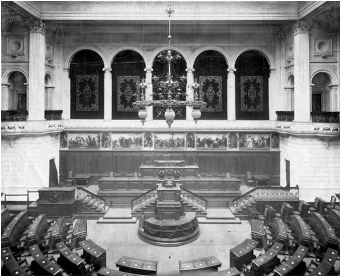 Зала засідань Галицького крайового сейму
