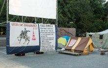 """Реконструкція наметового містечка """"Революції на граніті"""""""