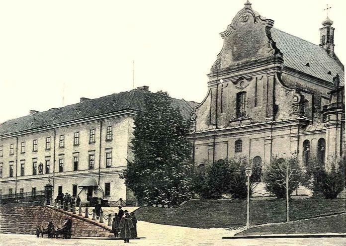 Колишня головна будівля університету, ректором якого в 1817 - 1818 був Анквич