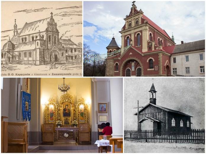 Храм на Замарстинові, або як до Львова капуцини повернулися