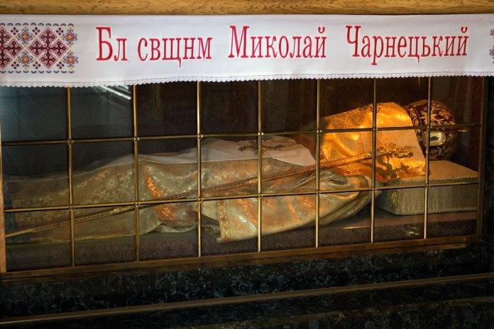 Мощі блаженного єпископа Миколая Чарнецького, 2015 рік