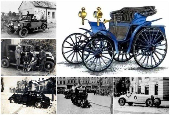 Автомобілі австрійського та польського Львова