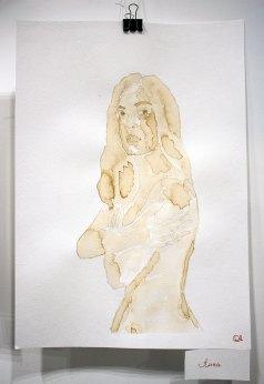 Кавова експозиція виставки «Shine on you» Ольги Довгань-Левицької