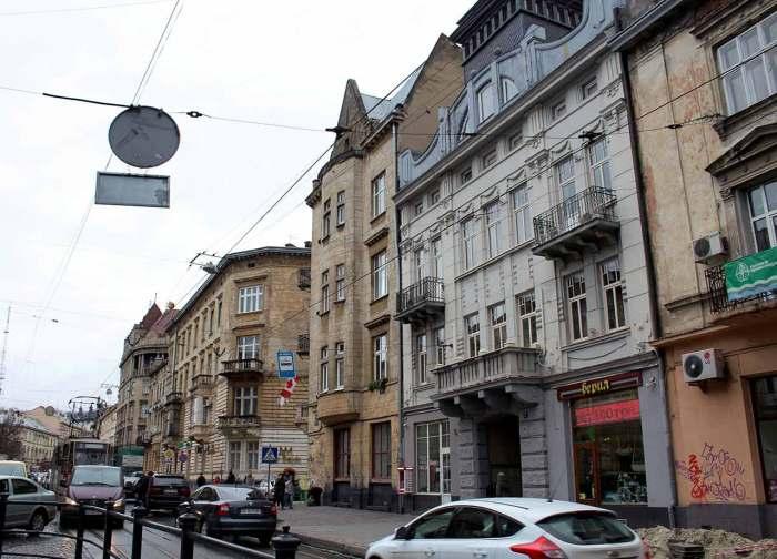 Сучасна вулиця Івана Франка у Львові (колишня вул.Панська). Будинок№ 7