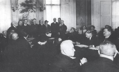 Конференція у справі голодомору в Україні в палаті Т.К.Іннітцера 16-17 грудня 1933р у Відні