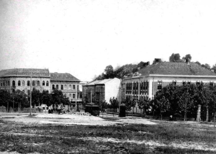 Дім ім. Тадеуша Костюшка на вул. Дверніцького (сучасна Свєнціцького), 1904 рік