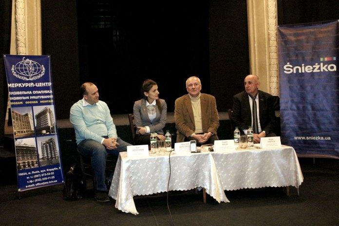 Перс-конференці на тему ремонтно-реставраційних робіт театру імені Марії Заньковецької