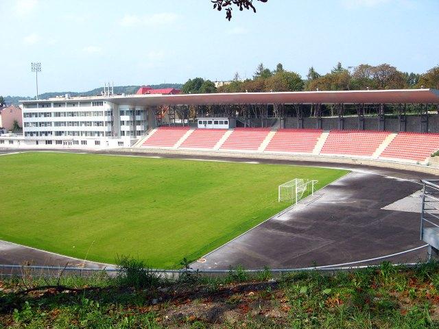 Стадіон «СКІФ», колишній соколянський стадіон. Сучасний вигля