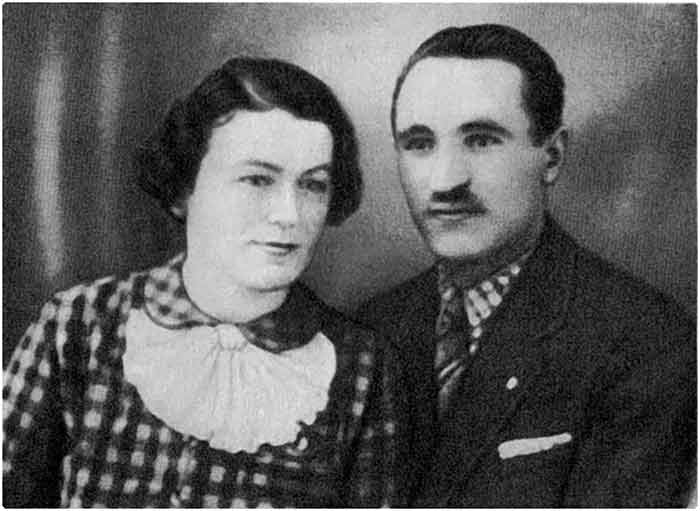 Ірина Вільде та її чоловік Полотнюк Євген Васильович