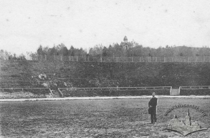 Стадіон польського «Сокула» (сучасний стадіон «Скіф»).