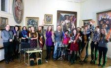 """Інтерактивний концерт від гурту """"Троє Зілля"""" в музеї Олекси Новаківського"""