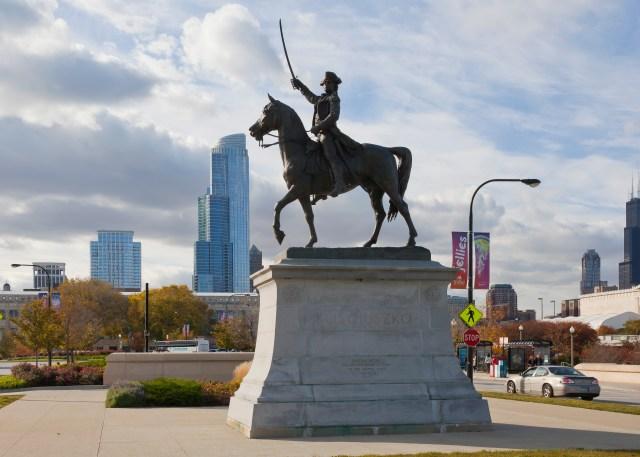 Пам'ятник Т. Костюшку у Чикаго. Фото з commons.wikimedia.org