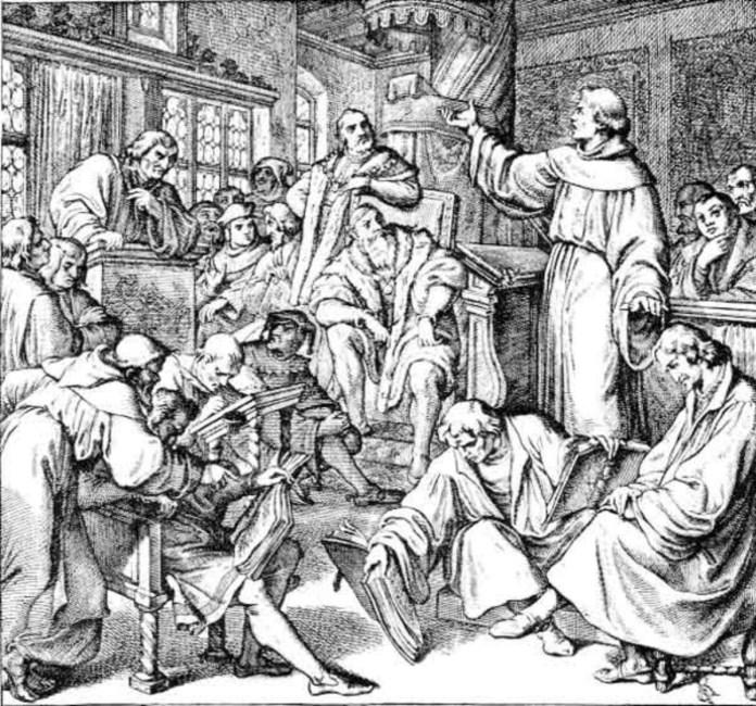 Ляйпцігський диспут між Лютером та Екком