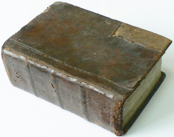 Требник Успенського братства, 1695 рік. Фото з www.gelos.kiev.ua