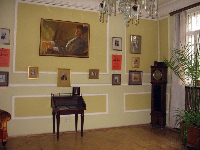 Експозиція Музично-меморіального музею Соломії Крушельницької у Львові