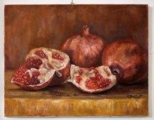 Експозиція виставки художниці Ольги Бартиш «Я-diletant»