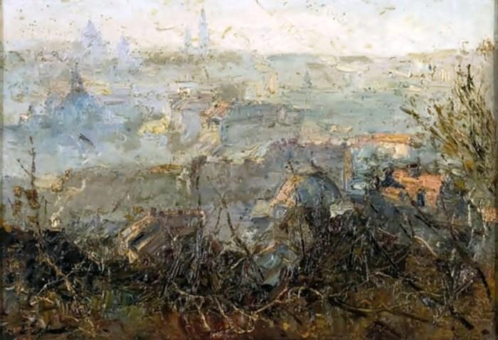 Ерно Ерб. Вид Львова, 1932 рік