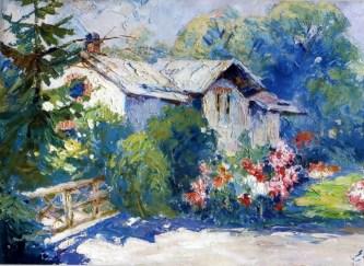 Ерно Ерб. Будиночок садівника на Високому Замку, бл. 1924 року