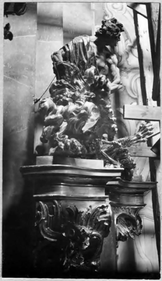 """Й.Г. Пінзель. """"Самсон з левом"""", фото 1925 року"""