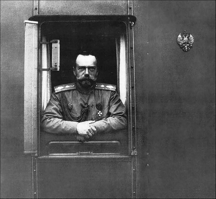 Російський імрератор Микола ІІ під час візиту на Галичину. Квітень 1915 року