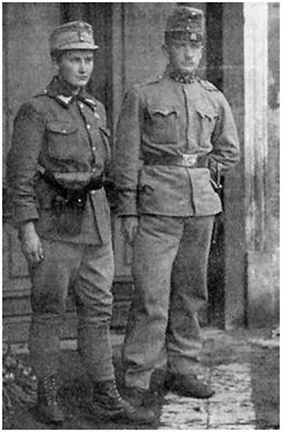 Олена Степанів із братом Ананієм