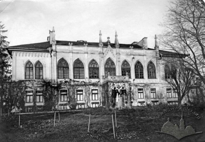 Палац Туркулів-Комелло. Фото 1910-1914 рр.