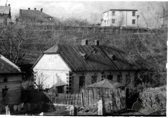 Частина Кульпаркова біля залізничної колії. Фото 1946-1960 рр.