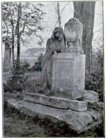 Гробівець Йоганна Нікітша на Городоцькому кладовищі у Львові. Фото 1908