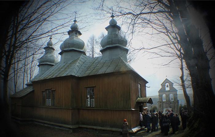 Церква у с. Явірник-Руський (нині - Польща), де народився М. Вербицький