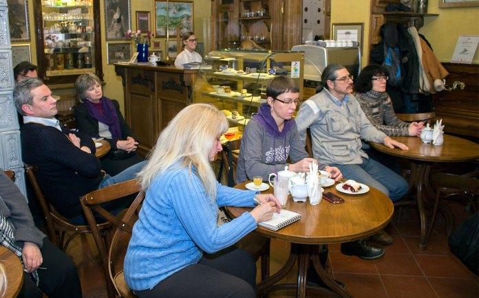 Розповідь про Катерину Грушевську в кав'ярні-галереї «Штука»