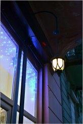 Ліхтар на вул. Івана Франка. Фото Тетяна Жернова 2016 рік