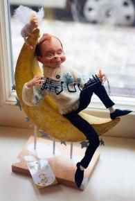 Експозиція виставки мистецької ляльки «Українська МавпаDoll»