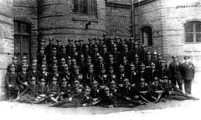 Пожежна команда Львова, фото 1930-х рр.