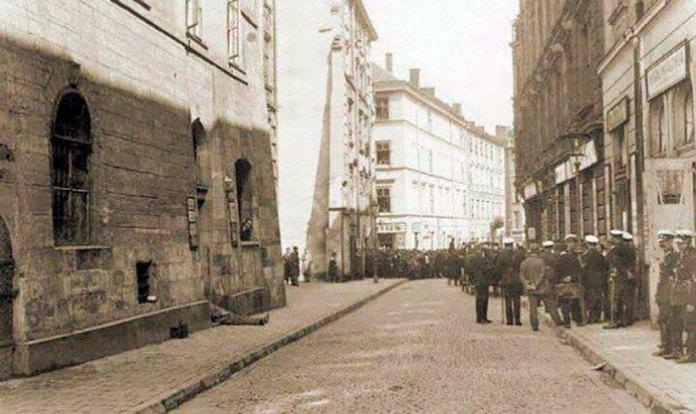 Вулиця Гродзіцьких (тепер – Друкарська), фото 1930-х рр.