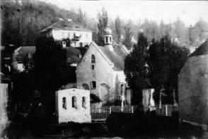 Костел Івана Хрестителя. Фото 1860-х рр.