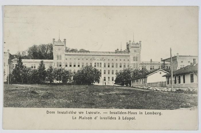 Центральна частина Дому Інвалідів - помешкання офіцерів. Фото 1901 року