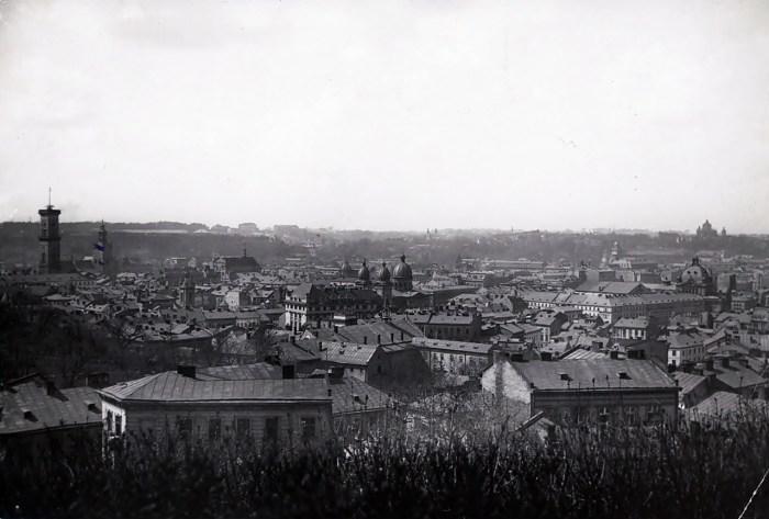 Вигляд Львова, 1925 рік