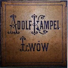 """Фірмова кахлина """"Adolf Kampel Lwow"""""""