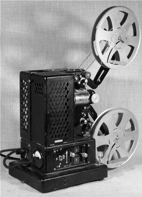 Кінопроектор (16 мм) «Siemens» виробництва Німеччини, 1933–50 рр. (зі сайту http://www.kinotehnik.net)