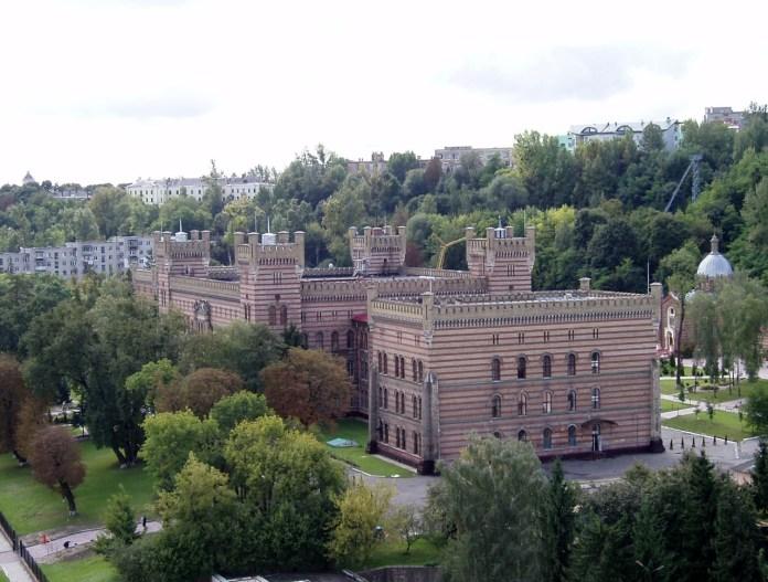 Вид на колишній Дім Інвалідів - тепер Університет безпеки Життєдіяльності. Сучасне фото