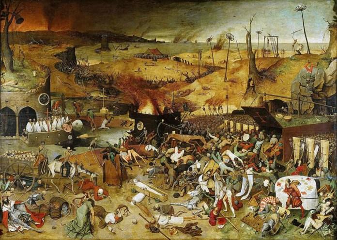 Пітер Брейгель-старший. Тріумф смерті, 1562 рік.