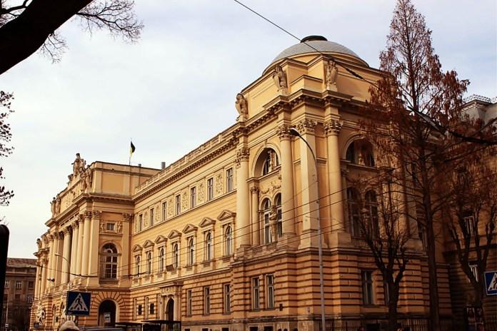 Будівля краєвого галицького Сейму, тепер – головний корпус Львівського національного університету ім. Івана Франка
